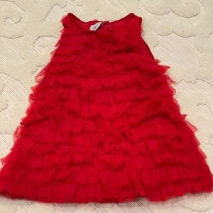 Mudpie Red Christmas Dress 2T/3T